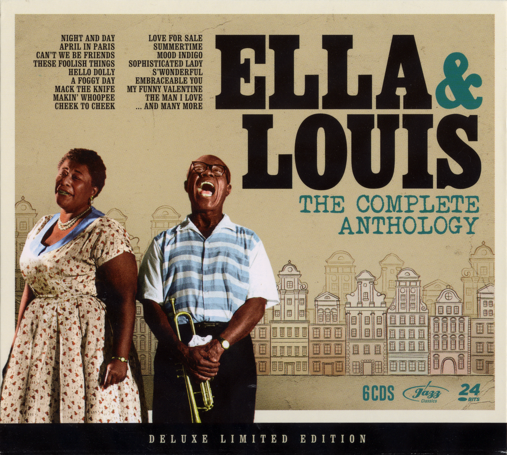 Ella Fitzgerald & Louis Armstrong The Complete Anthology [Deluxe